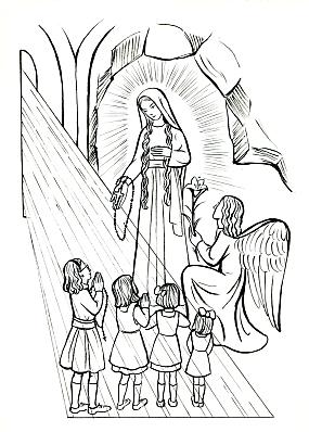 Apparition De Marie à Lile Bouchard 1947 Transmettre