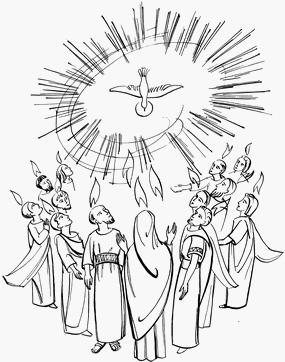Recevoir l'Esprit comme Marie