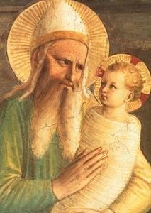 Présentation de Jésus au temple (Fra Angelico) bis