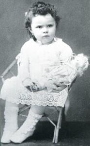 Elisabeth de la Trinité à 7 mois