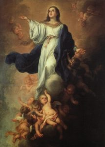 L'assomption de la Vierge Bartolomé Esteban Murillo 1670