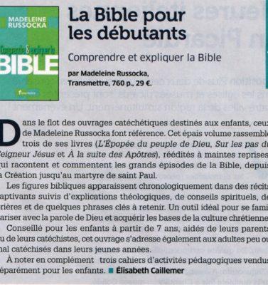 La Bible pour les débutants