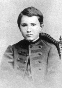 Charles de Foucauld à 14 ans